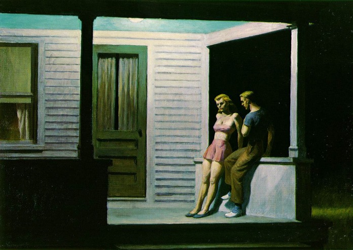 hopper-summer-evening